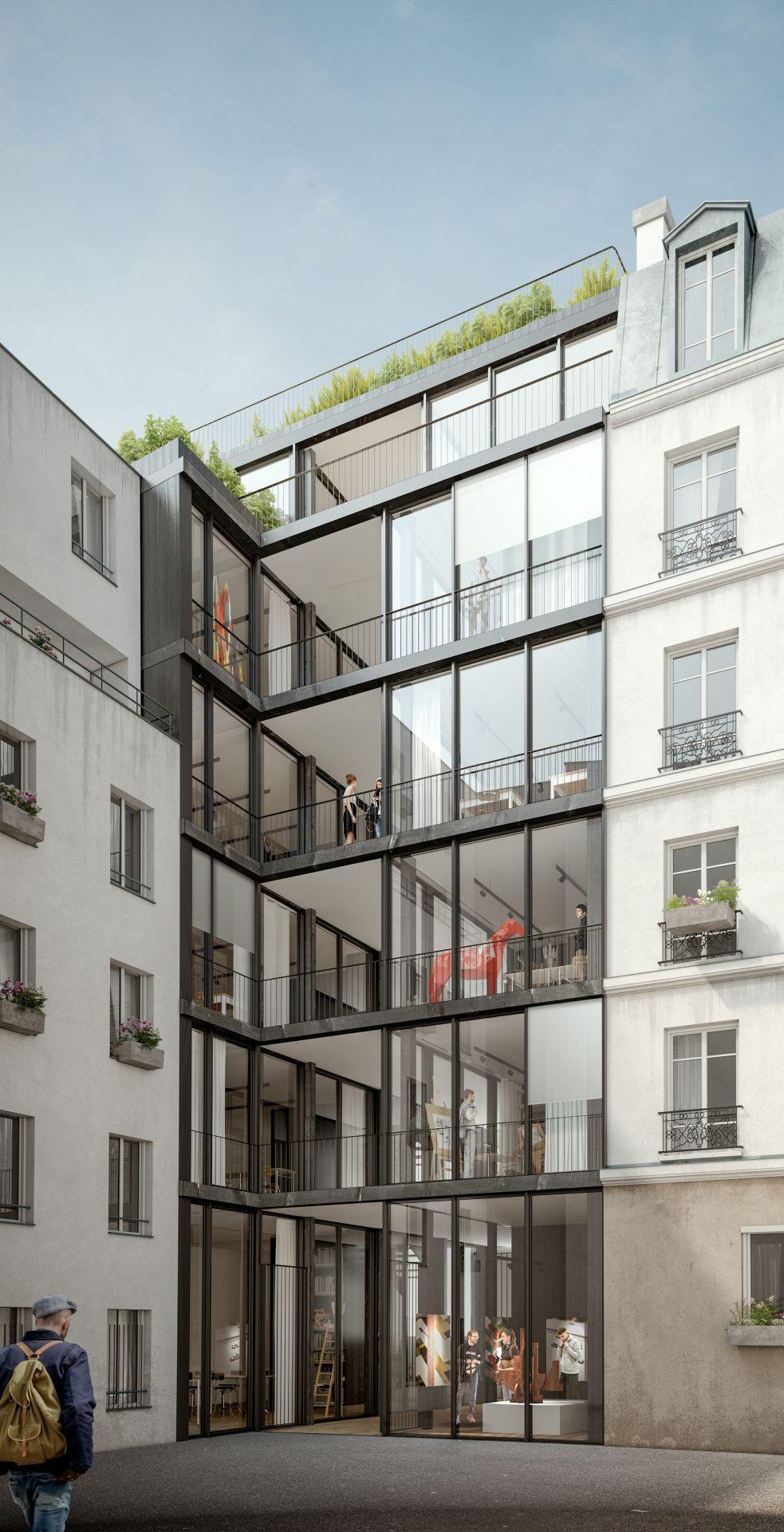 Supervue la architectures eqt pepiniere artisanale rue bisson bMedium