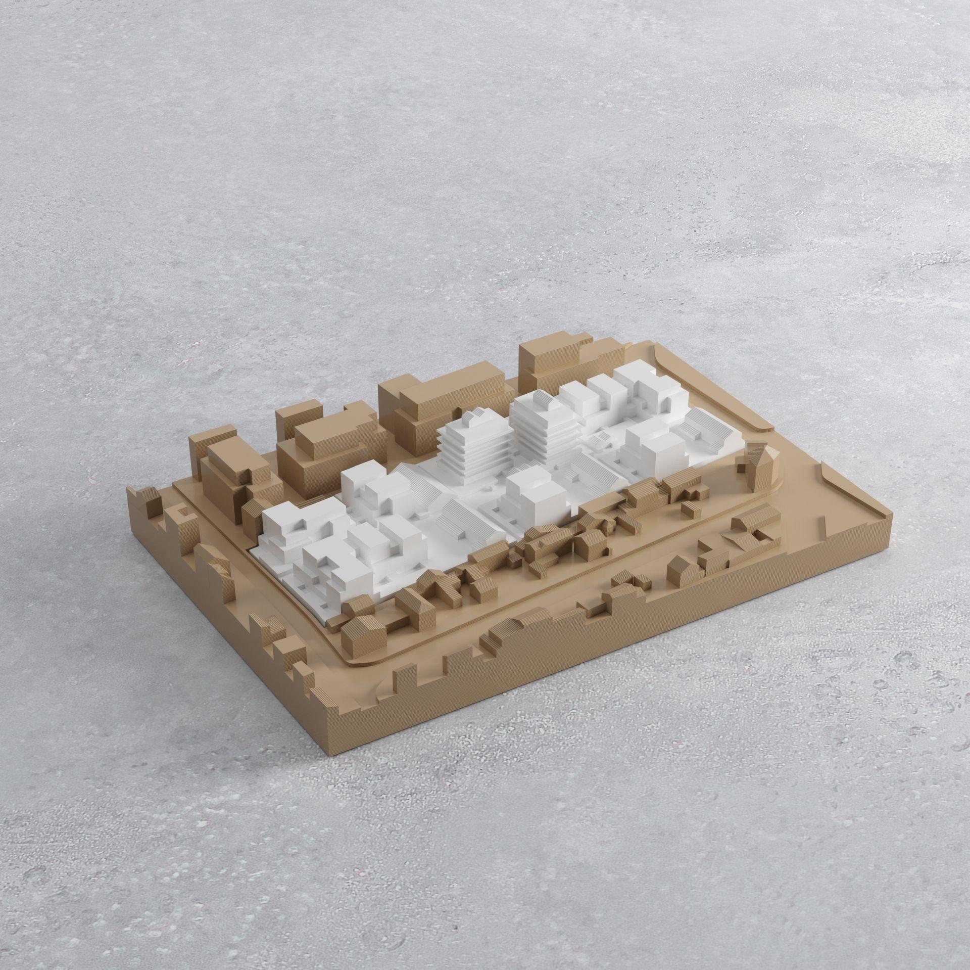 Supervue fragments lgt romainville logements de la cite des mare Medium