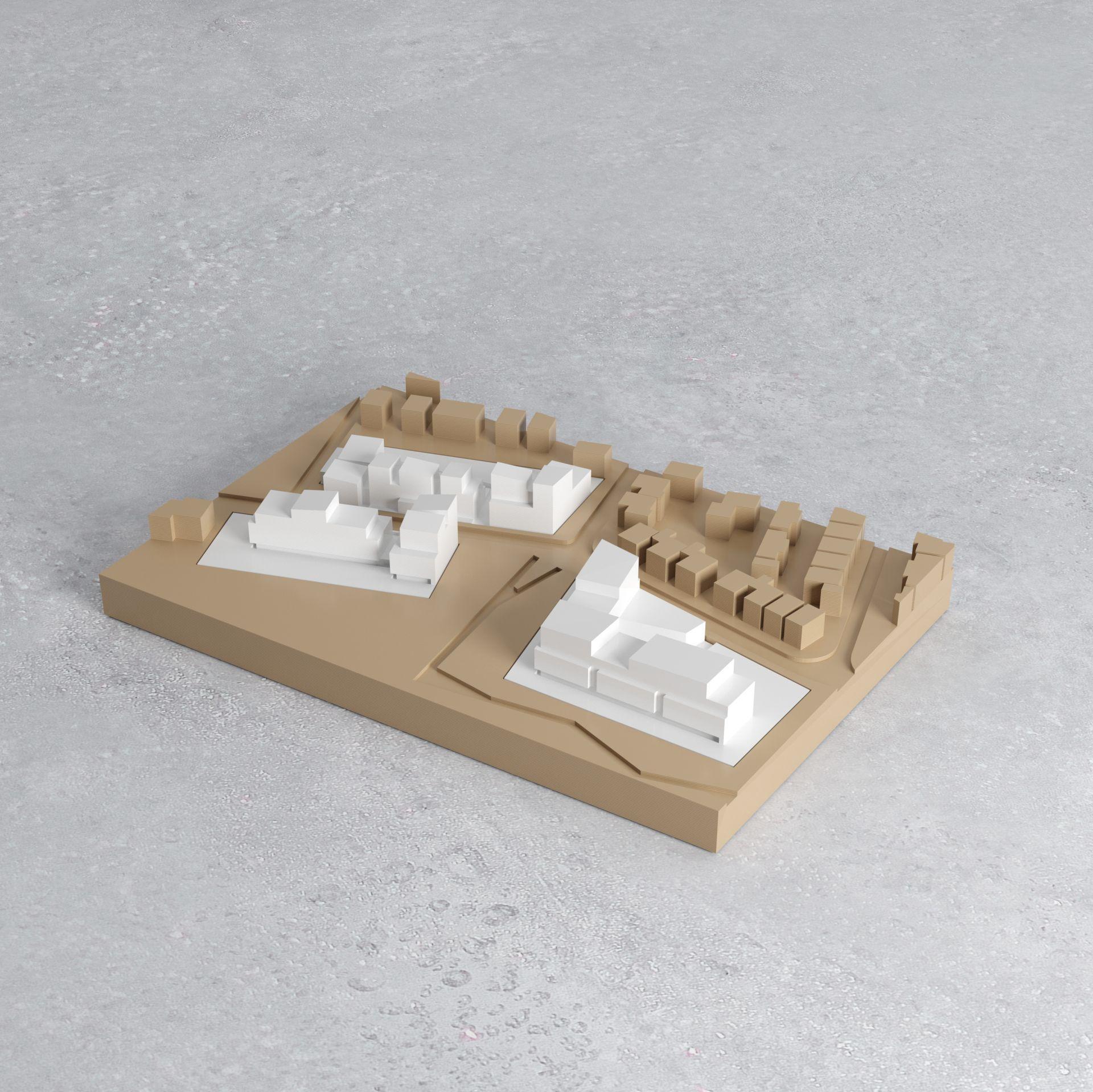 Supervue nakache orihuela architectes lgt bruyere le chatel maquetteMedium