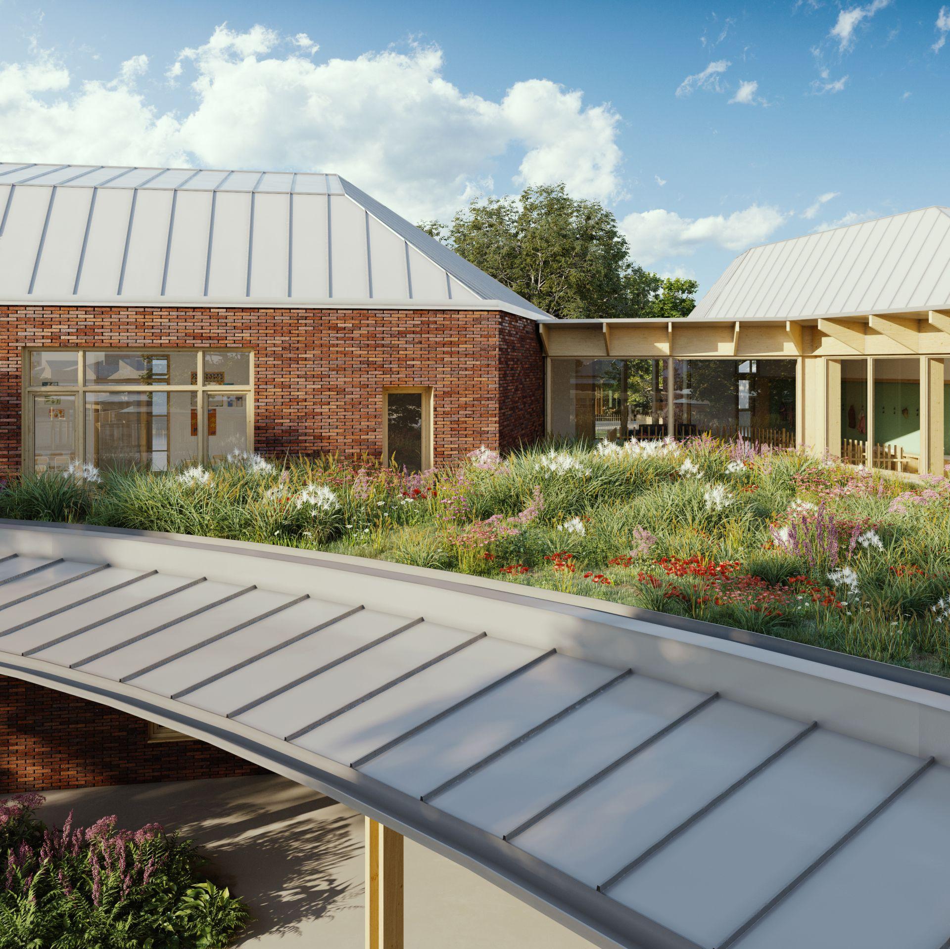 Supervue la architecture eqt canteleu maternelle et elementaire Medium