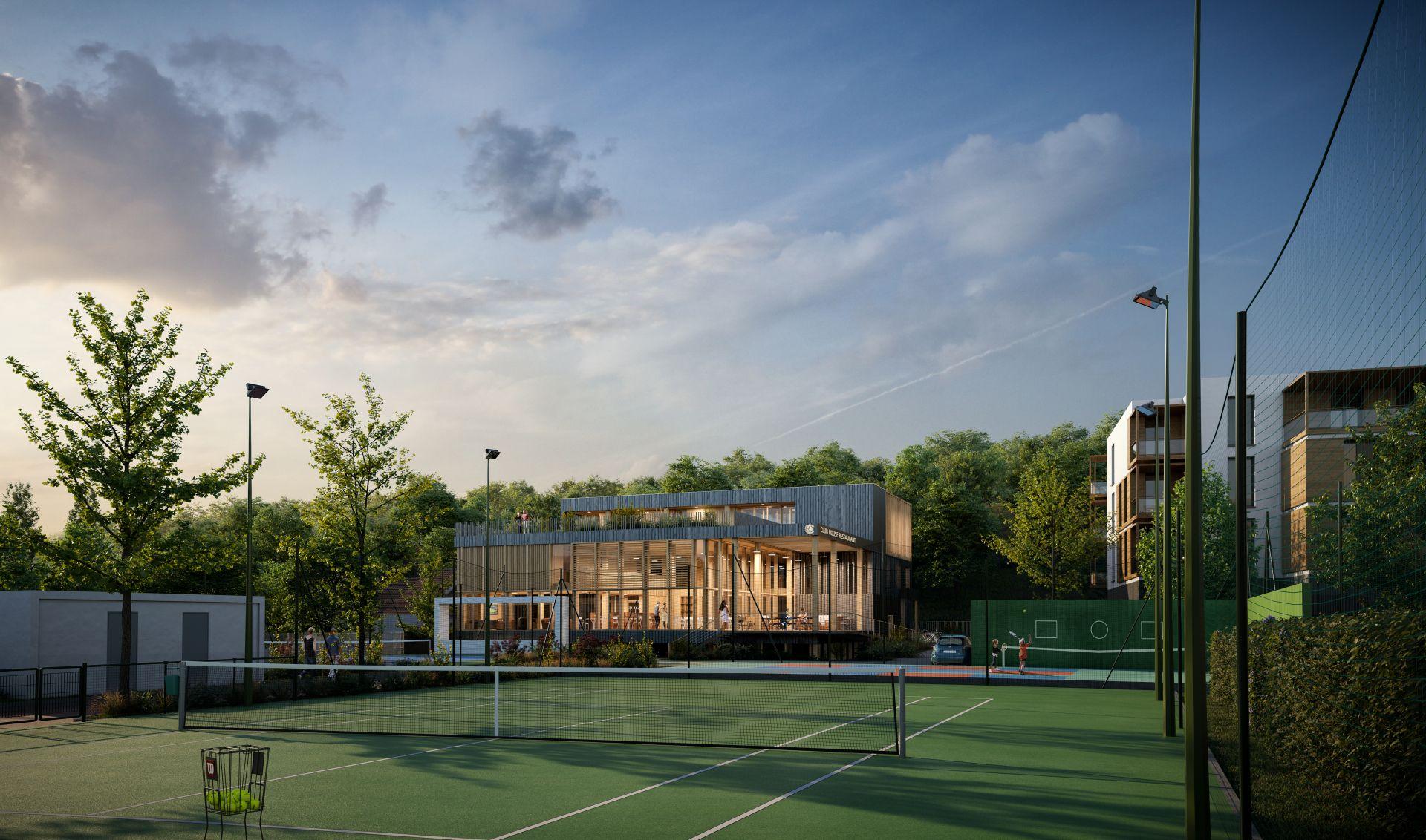 Supervue la architectures eqt tennis club de chaville Medium
