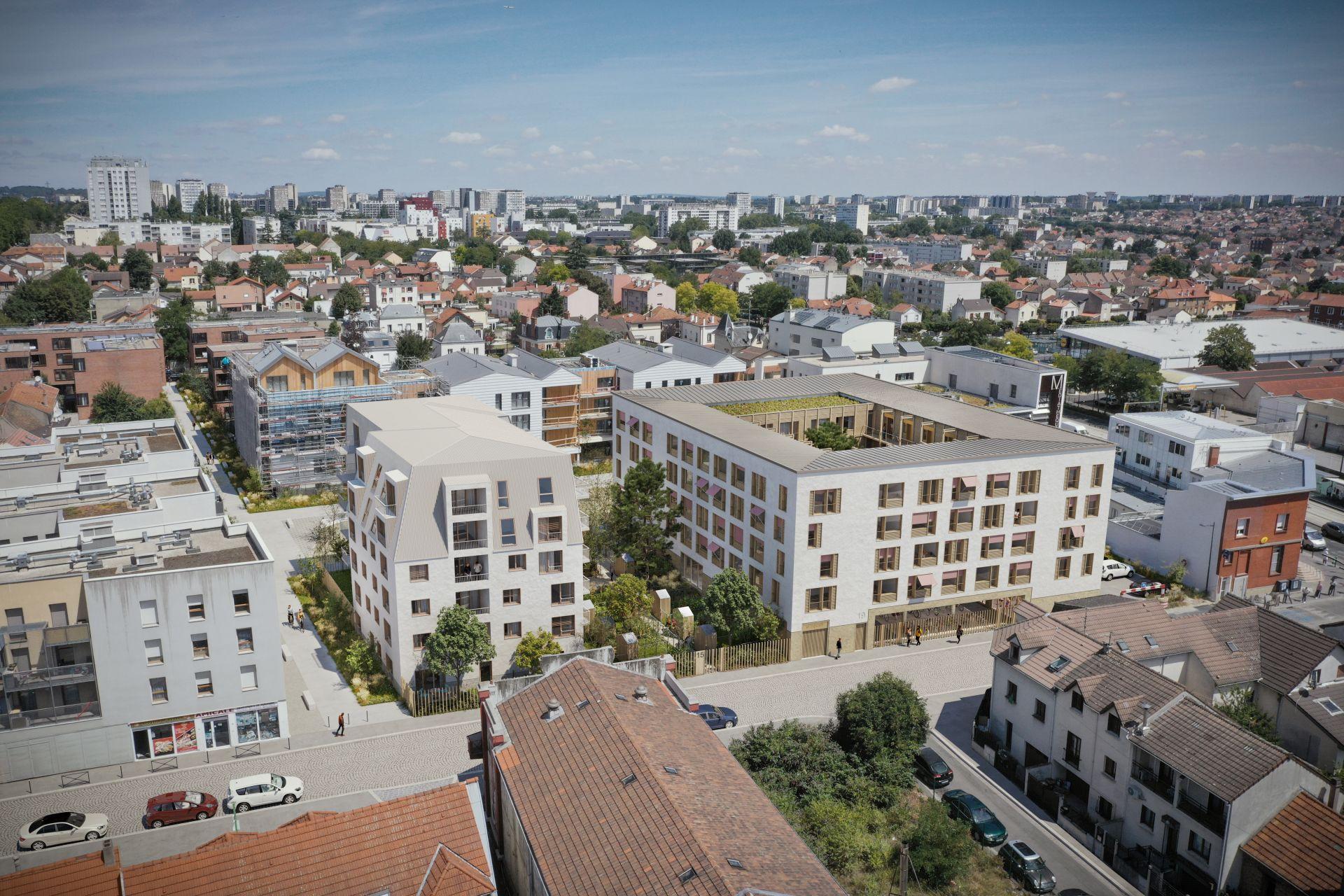 Supervue la architectures lgt logements pierrefitte Medium