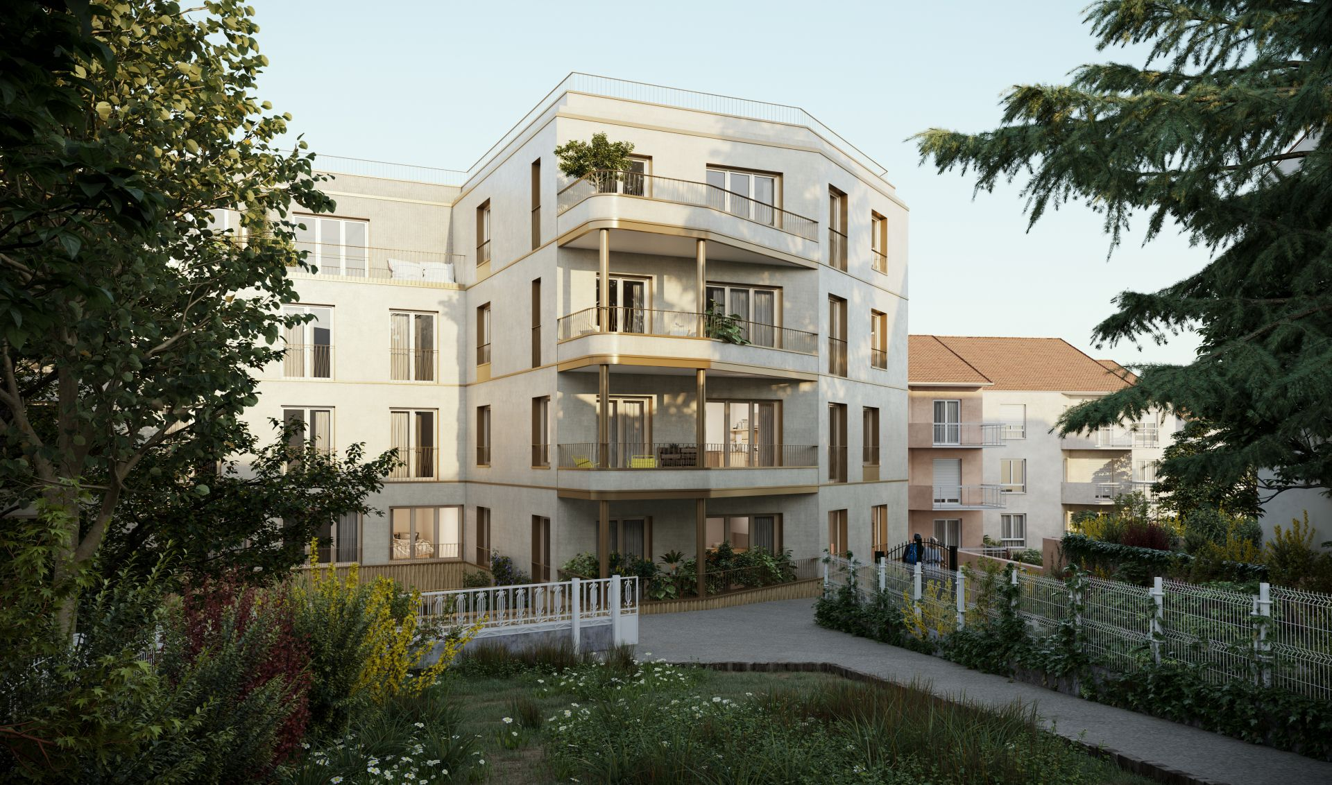 Supervue la architectures lgt logements a chaville Medium