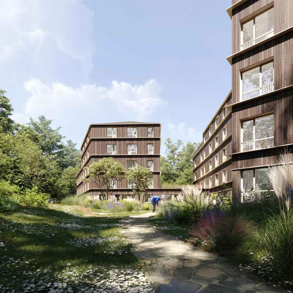 LA Architectures – Logements sociaux à Versailles