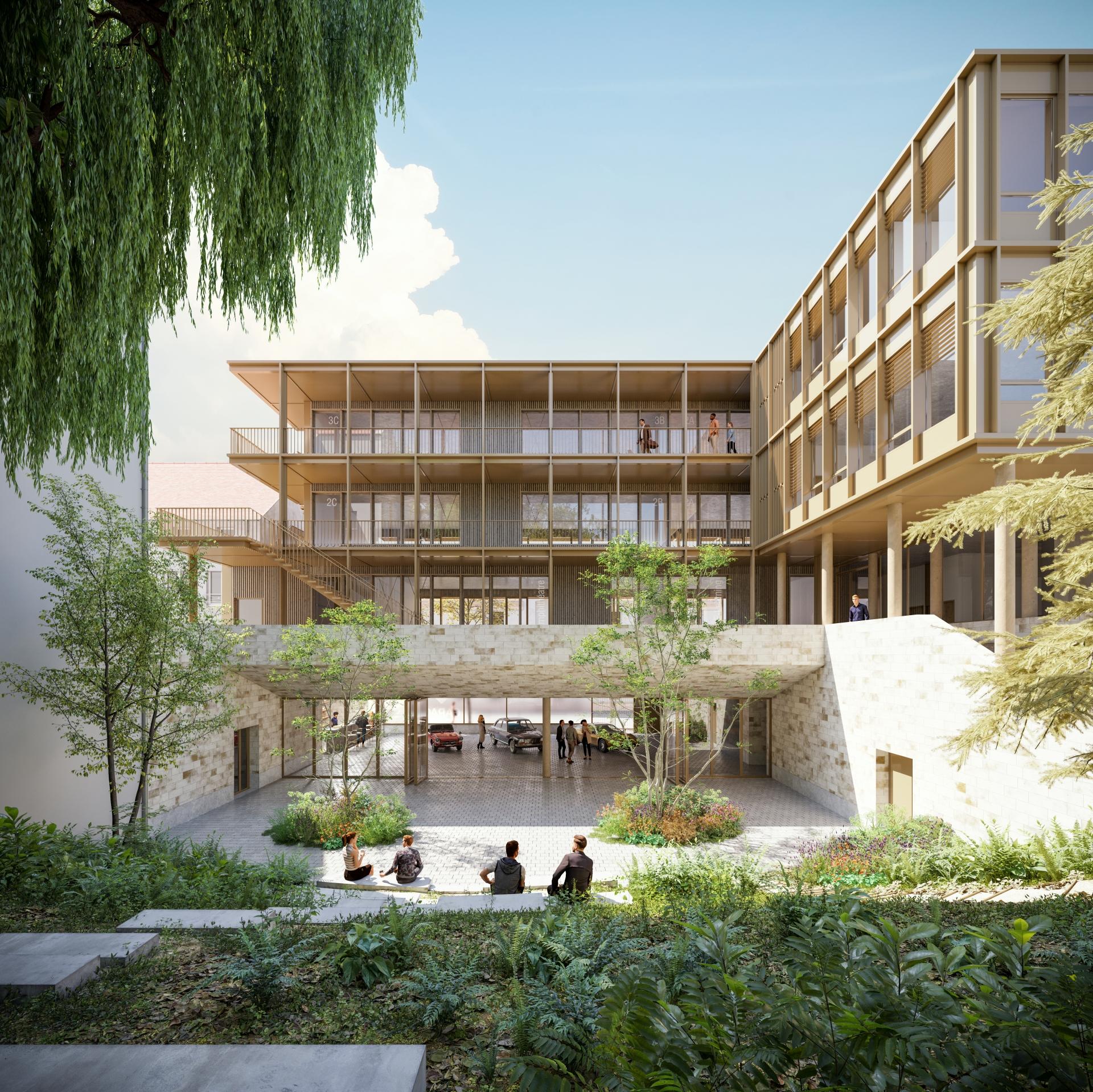 Supervue la architectures eqt ecole garac argenteuil Medium
