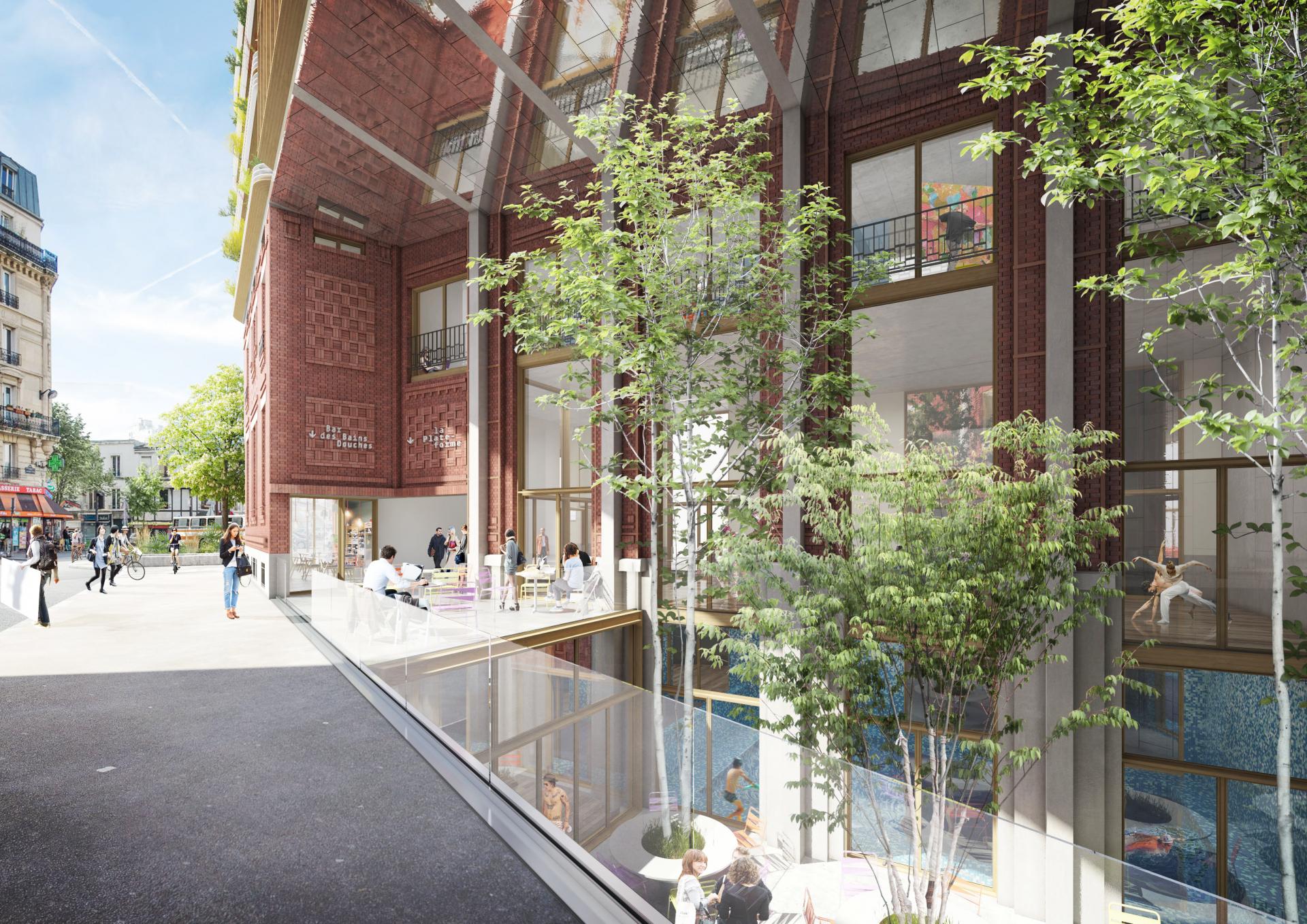 Supervue alexandre horde architectes et laurent blondeau lgt reinventer paris bMedium