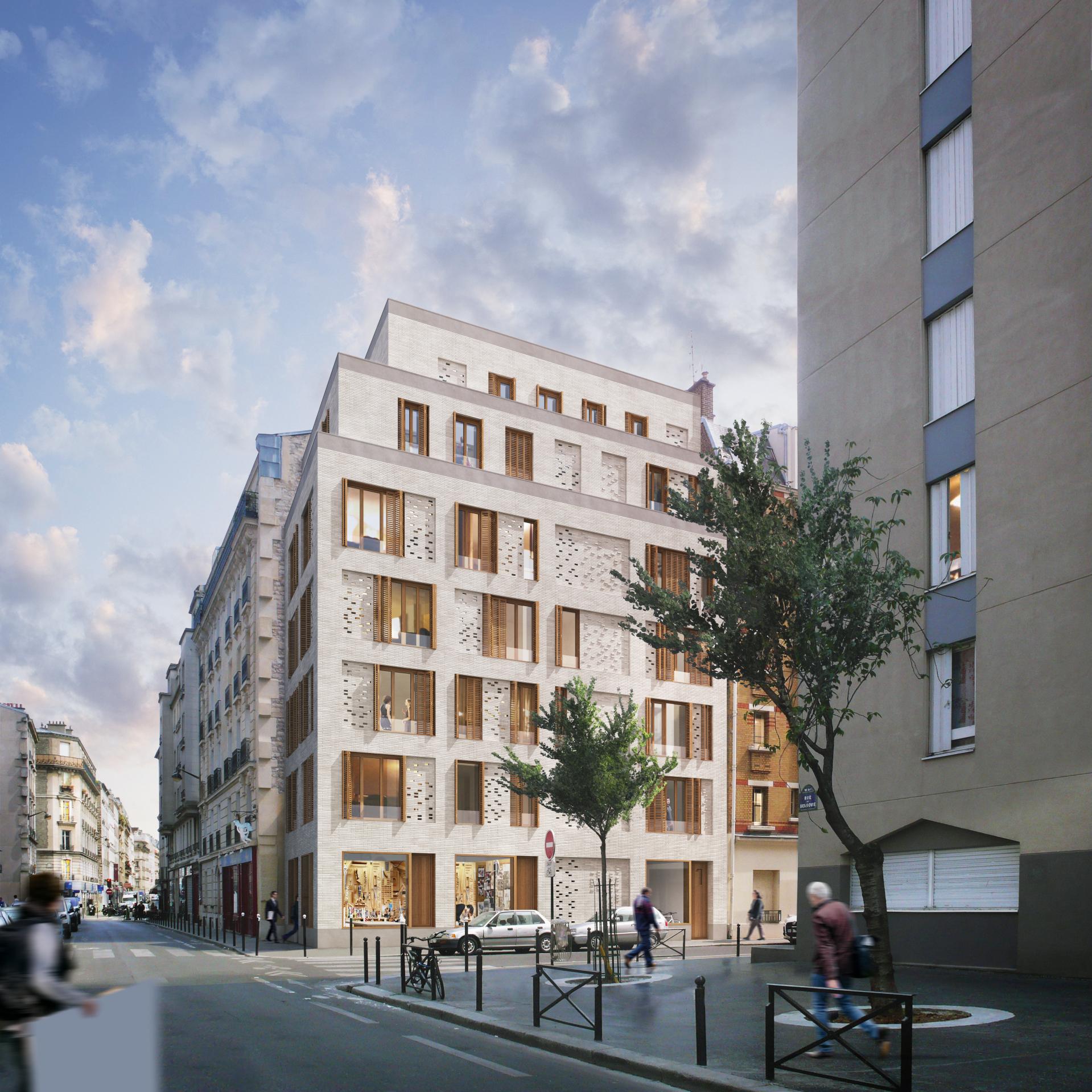 Supervue la architectures lgt rue gergovie Medium